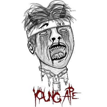young ape